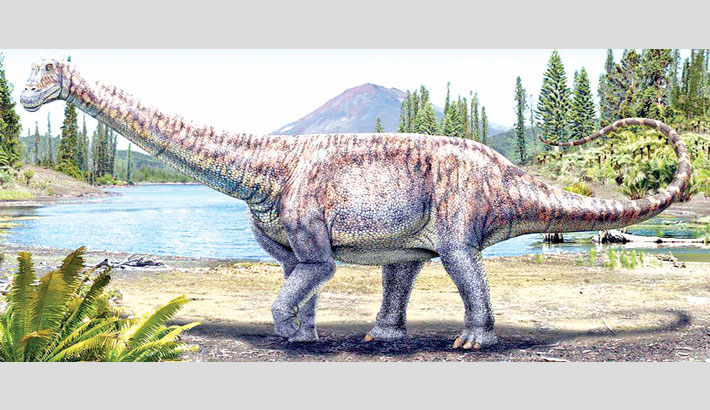 New species of dinosaur unearthed in Chile
