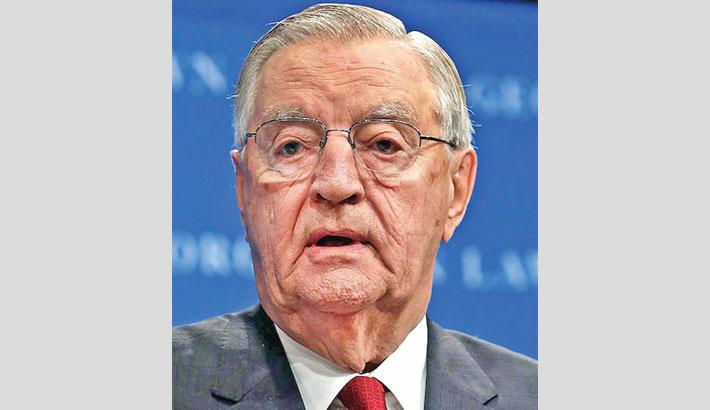 Former US Vice President Walter Mondale dies