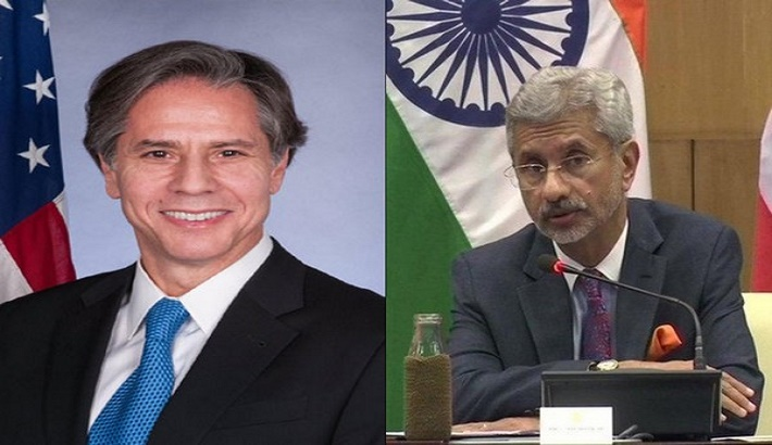 Blinken, Jaishankar reiterate commitment for restoration of democracy in Myanmar