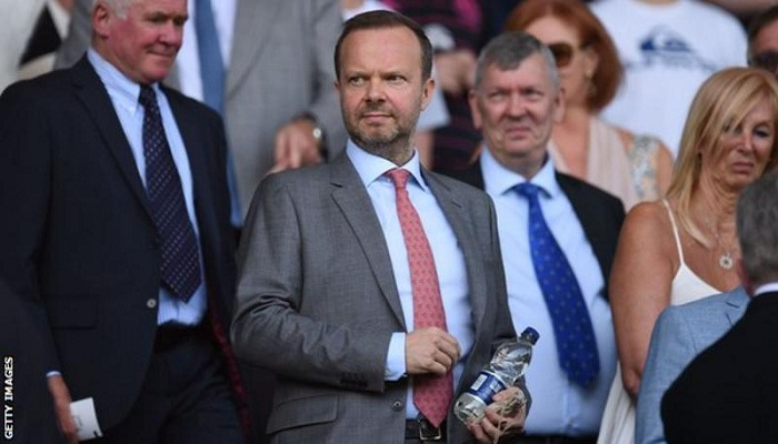 Woodward to resign from Man Utd role