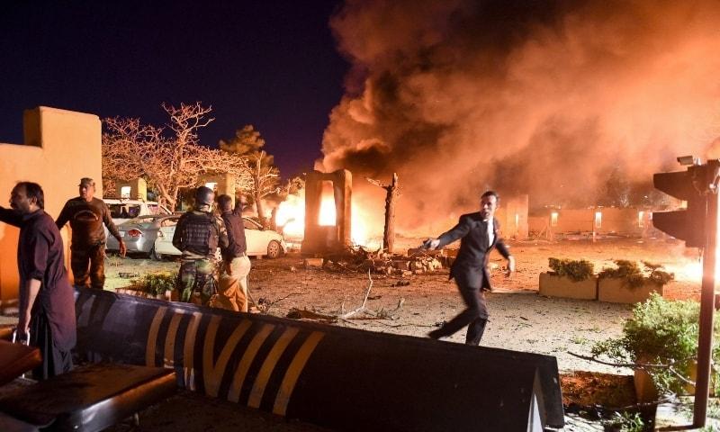 4 killed, over dozen injured in SW Pakistan's hotel bomb blast
