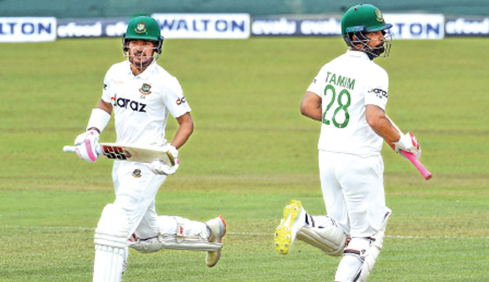 Tigers in control as Najmul hits maiden ton
