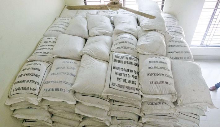 Trader arrested with 70,000kg of govt rice
