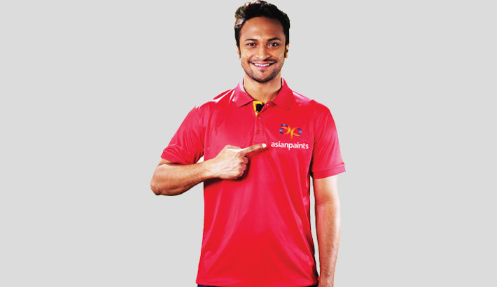 Shakib becomes Asian Paints brand ambassador