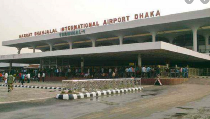 Doctor couple held with pistol and bullets at Dhaka airport