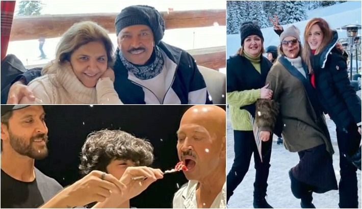 Sussanne pens note to Hrithik's father Rakesh Roshan, mother Pinky on 50th wedding anniversary