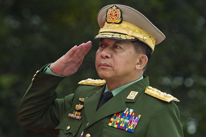 Myanmar junta chief to attend ASEAN summit: military