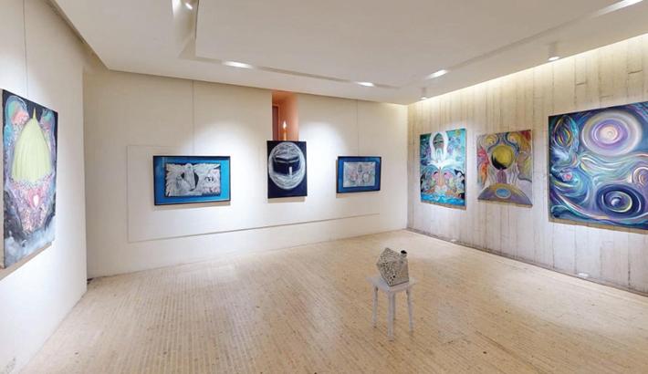 Ronni's solo exhibition explores Sufism