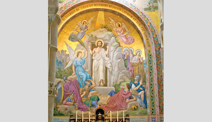 Resurrection of Christ and believers' lives