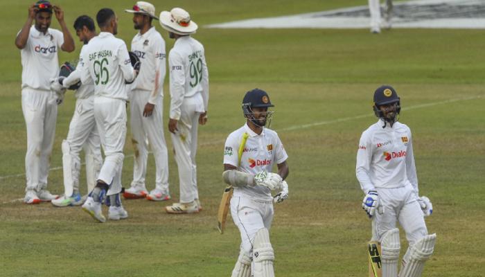 Sri Lanka make steady progress against Bangladesh's 541