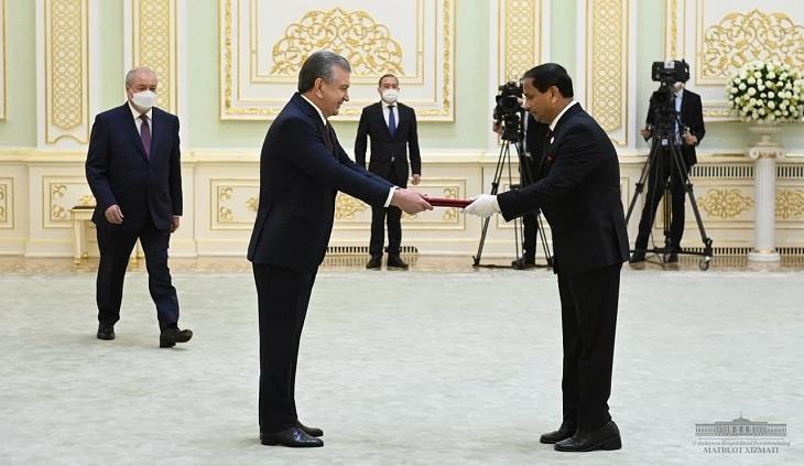 Bangladesh envoy to Uzbekistan presents credentials