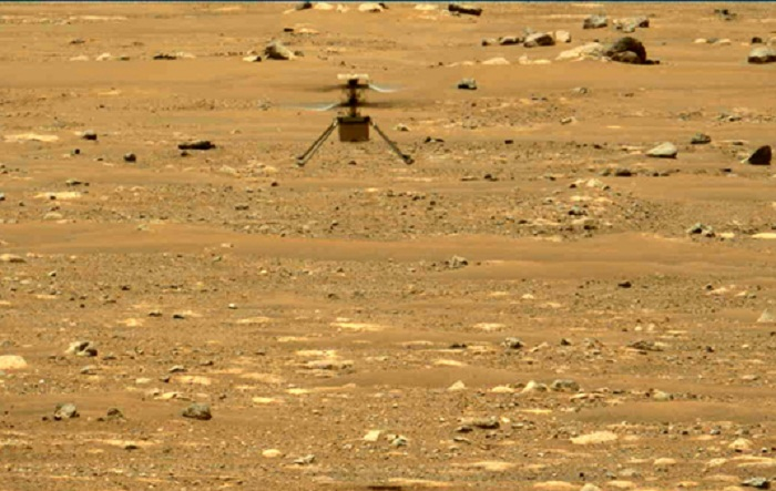 NASA's Mars helicopter makes second flight