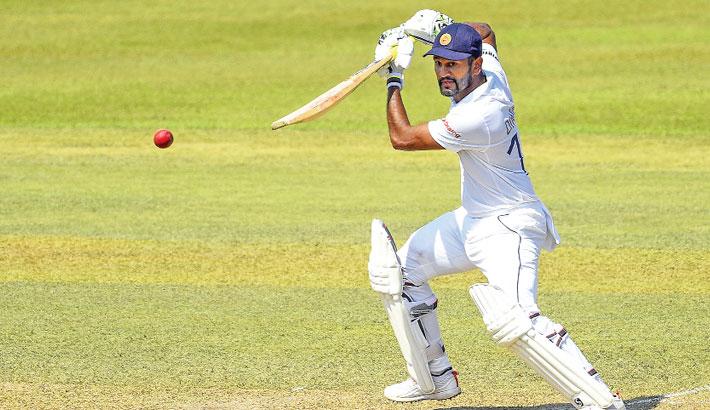 Karunaratne leads Sri Lanka's resurgence