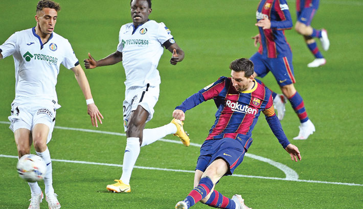 Messi double fires Barca to victory