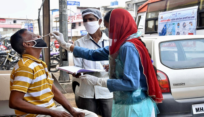 India records highest daily spike with 3.46 lakh COVID-19 cases