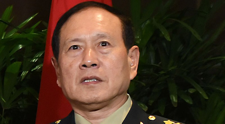 Chinese Defense Minister due Tuesday