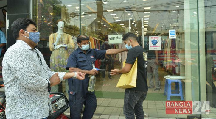 Pandemic in Bangladesh: Shops, malls reopen doors