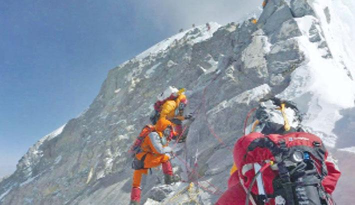 Corona reaches Mount Everest