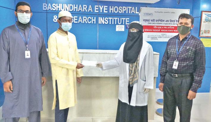 Bashundhara Eye Hospital clears Dr Abdul Khalek's dues