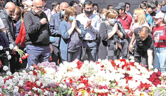 Armenians mark WWI-era massacres by Ottoman Turks
