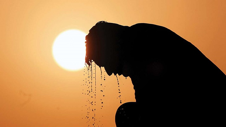 Country sees highest temperature in 7 yrs