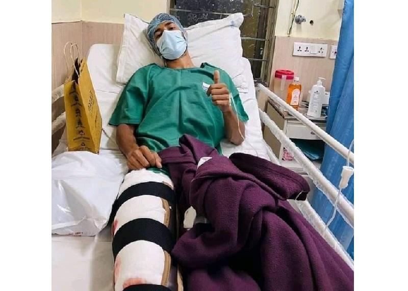 Footballer Ziban stuck in India