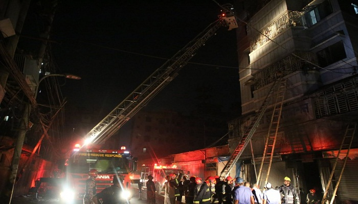 Armanitola building fire: One more victim dies
