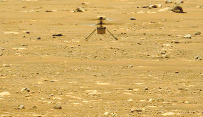 Nasa's Ingenuity helicopter makes 2nd Mars flight