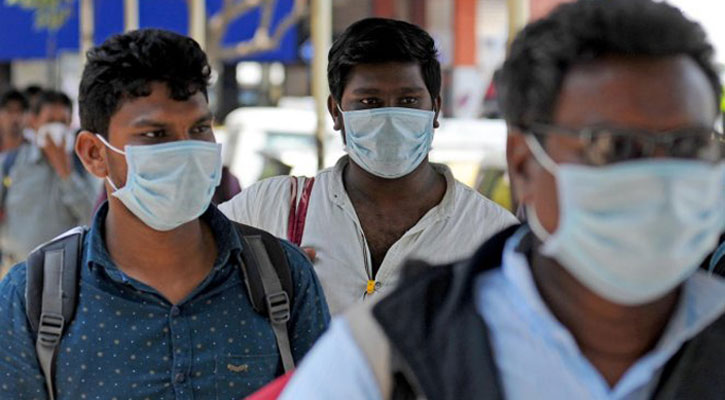 Tougher action against those not wearing masks