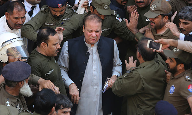 Accountability court orders auction of Pakistan former PM Nawaz Sharif's properties, vehicles