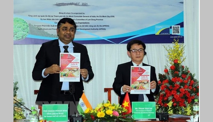 Lam Dong, India seek stronger agricultural cooperation