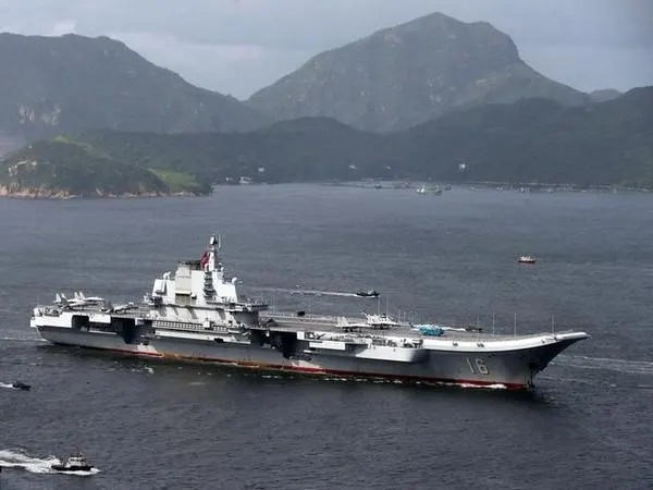 China commissions 3 warships in South China Sea