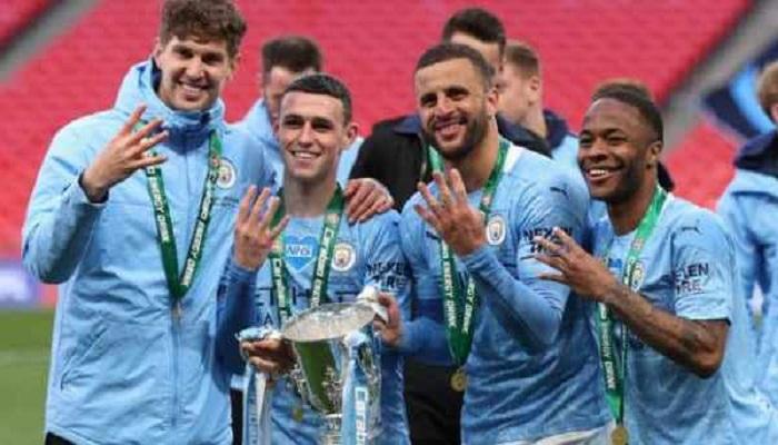 Man City beat Spurs to lift Carabao Cup