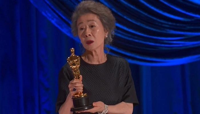 Youn Yuh-jung wins best supporting actress Oscar for 'Minari'