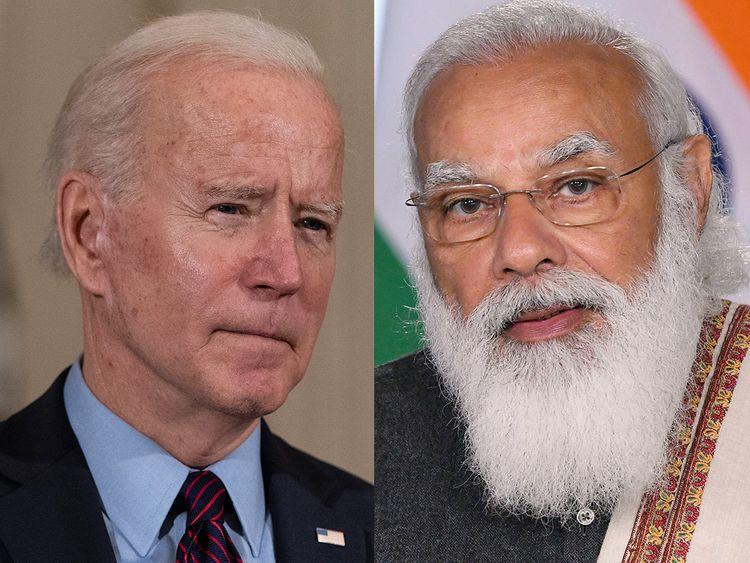 Biden promises India Covid support in call to Modi