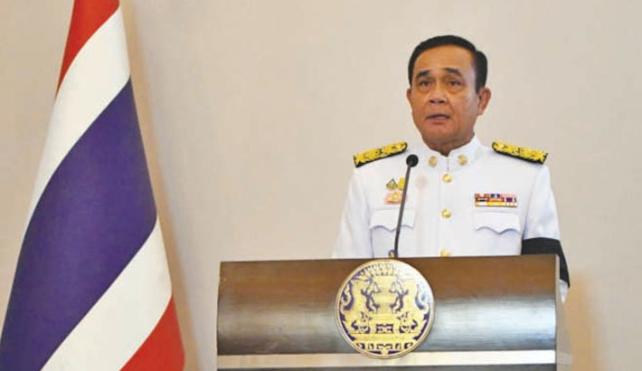 Thai PM fined for not wearing mask