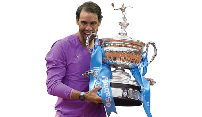Nadal rises to number 2 in ATP rankings