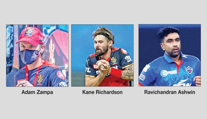 India's Ashwin, 3 Australians withdraw from IPL