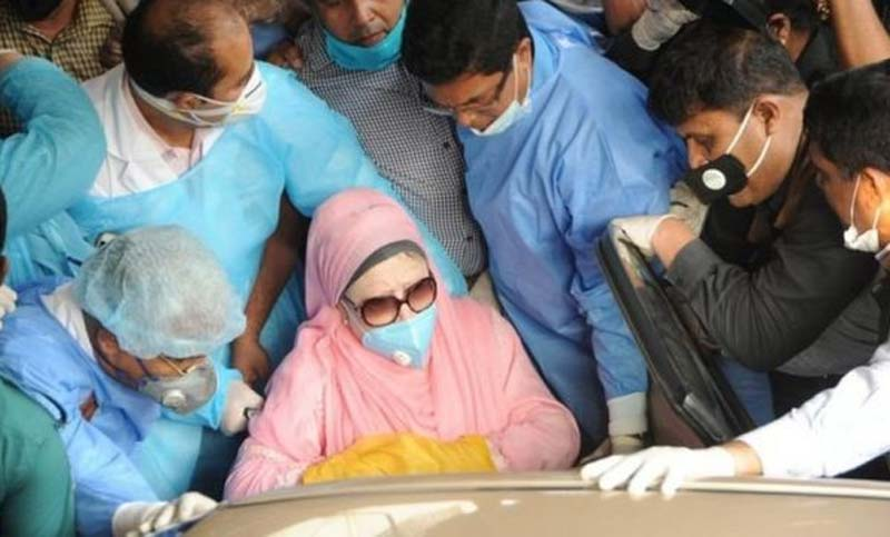 Khaleda Zia will be taken to hospital again today