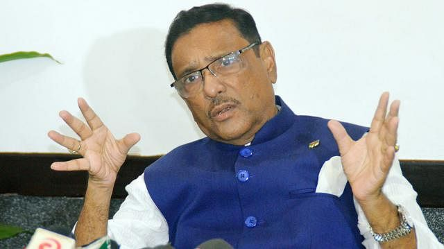 Obaidul Quader urges all to work together to tackle coronavirus