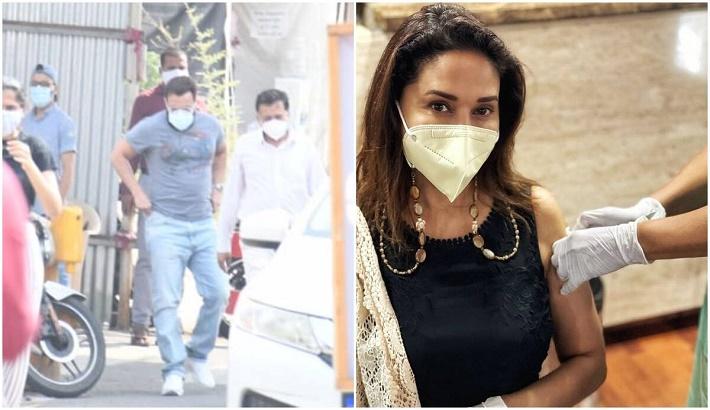 Saif Ali Khan, Madhuri Dixit get second jab of vaccine against Covid-19