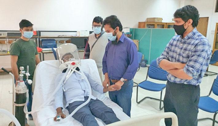 BUET-made Oxyget C-PAP ventilator undergoes clinical trials