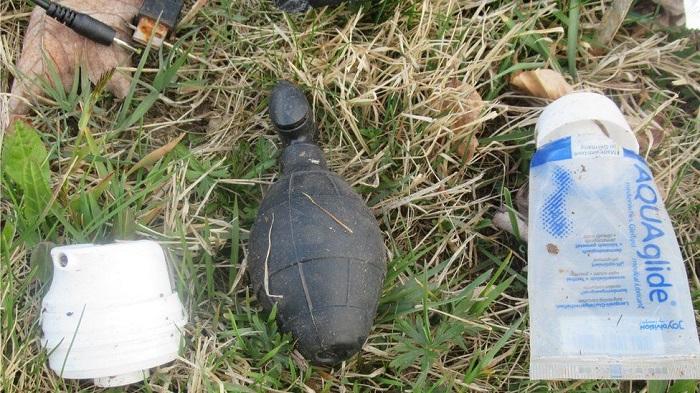 Grenade-shaped sex toy sparks police alert in Germany