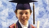 Meet the 12-year-old graduating high school and college in the same week