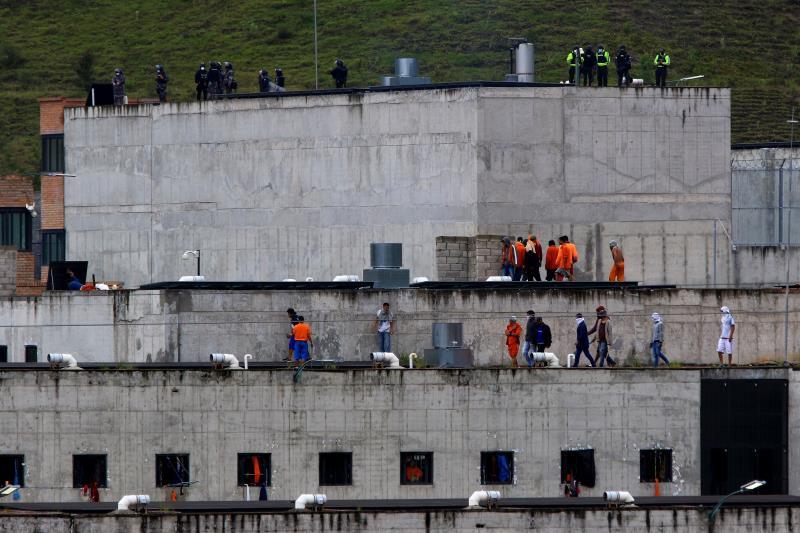 Five killed in Ecuador prison gunfight