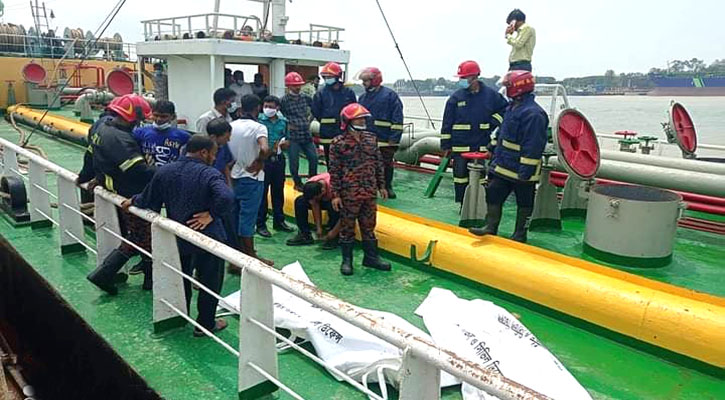 2 burnt to death in oil tanker fire in Patenga, 3 hurt