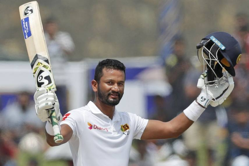 Sri Lanka reaches 188-0 at tea as Karunaratne hit 2nd straight century