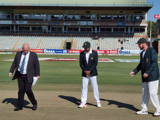 Zimbabwe elect to bat first against Pakistan in first Test