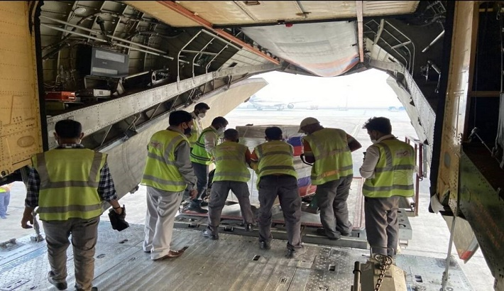 Russia sends 22 tonnes of Covid relief material to help India