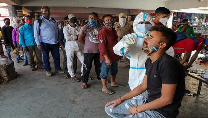 In biggest one-day spike, India records 379,257 Covid-19 cases, daily toll again at all-time high of 3,645